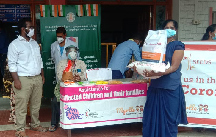 Supporting our Unsung Covid Heroes at Egmore Hospital