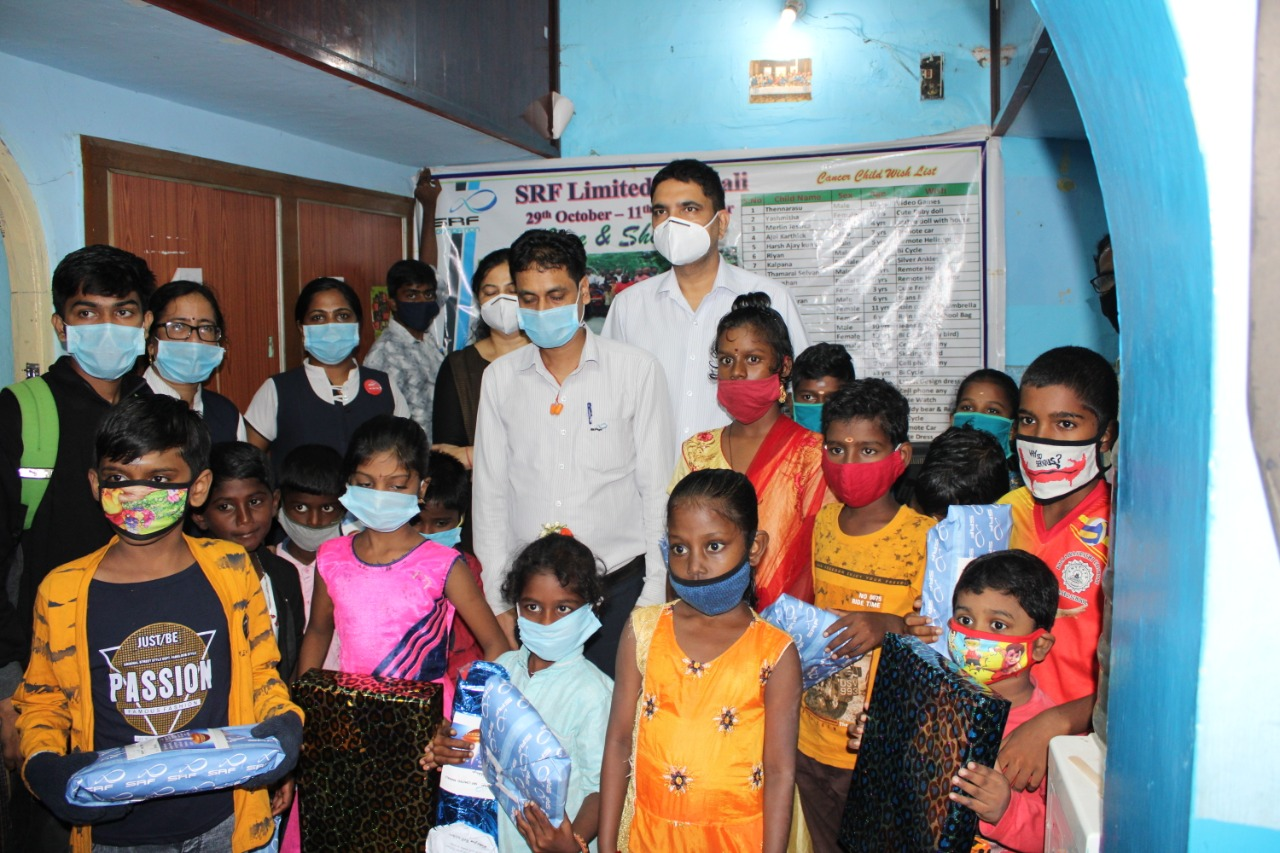 Care and Share Initiative by SRF Limited - Granting the wishes of our Children
