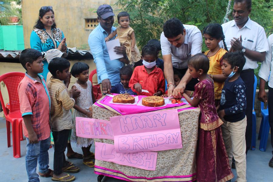 Birthday Celebrations at Ann Cares Foundation